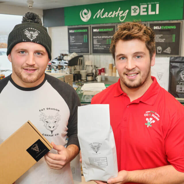 WIN WITH OIL 4 WALES AND FAT DRAGON COFFEE!