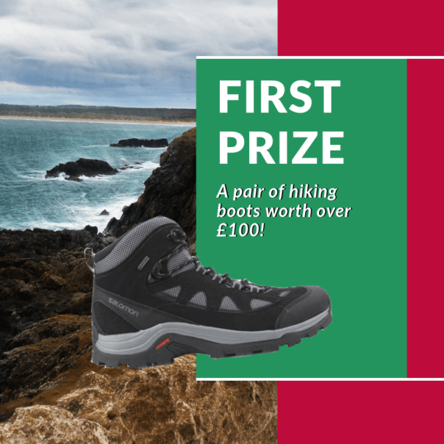 first prize hiking wales