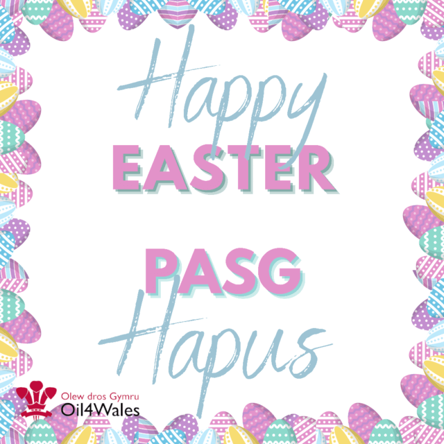 Pasg Hapus! / Happy Easter!