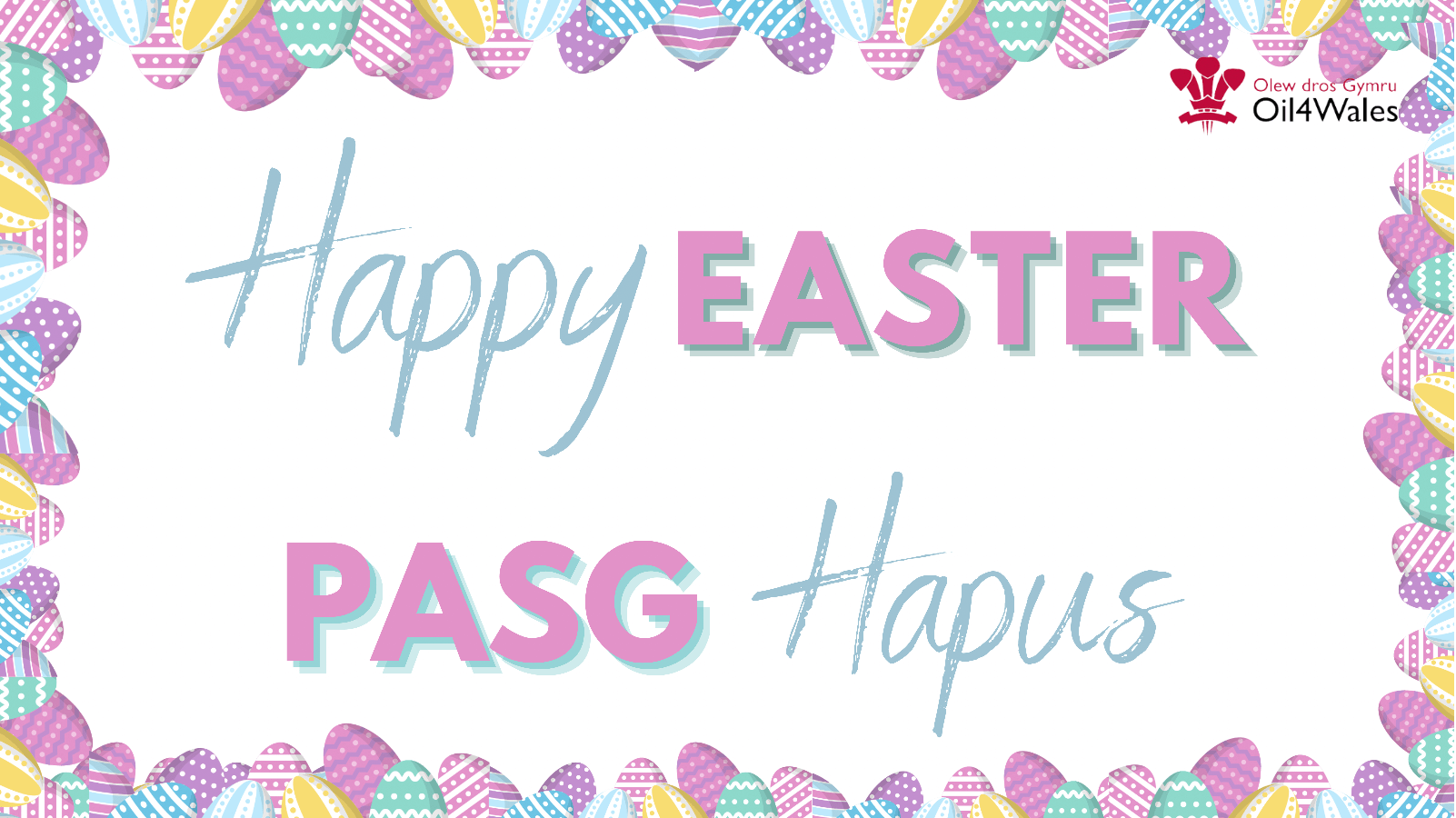 Happy Easter Pasg Hapus