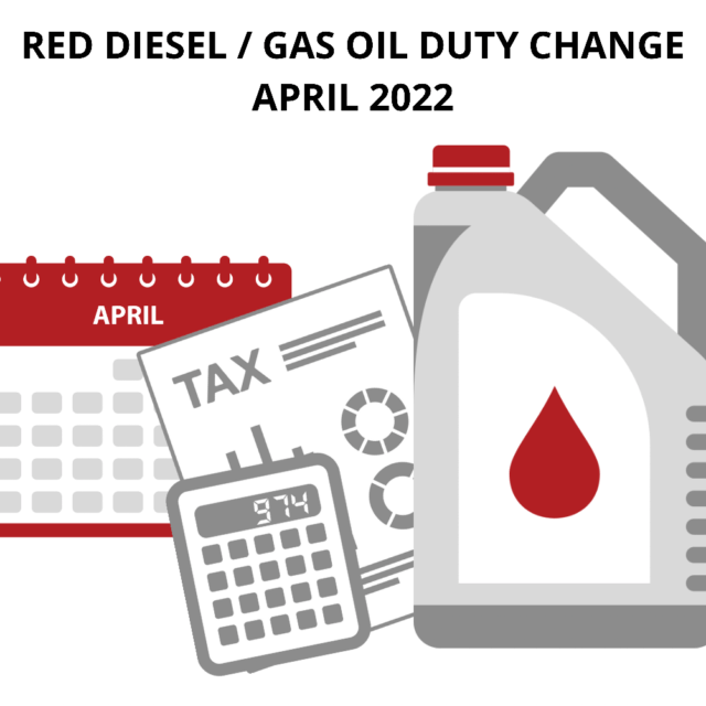 Gas Oil / Red Diesel Duty Change – What Will This Mean?