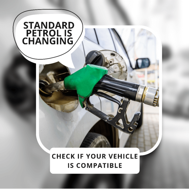 Standard 95 Octane Petrol Has Become E10 – Is Your Vehicle Compatible?